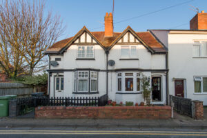 The Gables, 3 Lansdowne Road, Worcester, Worcestershire, WR1 1ST. Lovely heart-o-City cottage